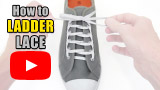 Watch video: How to Ladder Lace your shoes