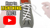 Watch video: How to Lightning Lace your shoes